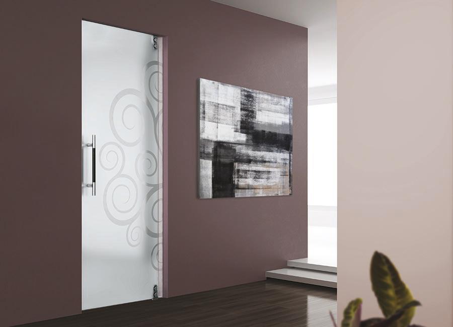 Porte in vetro – Falegnamerie Moderne