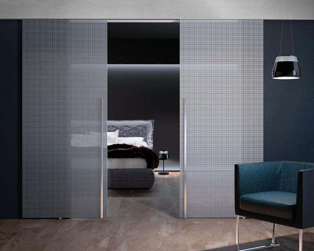 Porte Doppie Scorrevoli Vetro porte in vetro – falegnamerie moderne